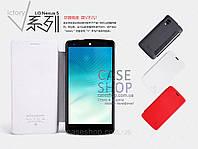 Кожаный чехол Nillkin для LG Nexus 5 D820 (КНИЖКА)