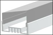 Рассеиватель для LED-профилей  РСТ