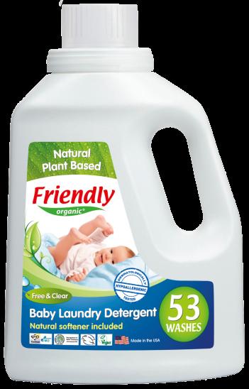 Friendly organic ЭКО Жидкий стиральный порошок Без запаха 1,57 литров