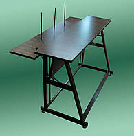 Стол для вязальной машины компактный с откидной полочкой