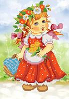 Аленушка РКП-4-011 Схема на ткани для вышивки бисером, ТМ Марічка