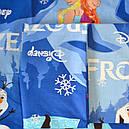 """Комплект постельного белья Frozen """"Viluta-ранфорс Platinum"""", подростковый, фото 3"""
