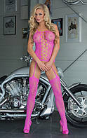 Комбинезон - Floweret, neon pink, S-L