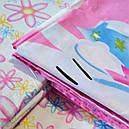 """Комплект постельного белья Hello Kitty """"Viluta-ранфорс Platinum"""", подростковый, фото 3"""