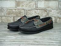 Мокасины (топсайдеры) мужские кожаные  SEBAGO р.39-43