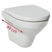 Унитаз консольный и сиденье с крышкой Softclose c  Tigo JIKA  H8202130000001