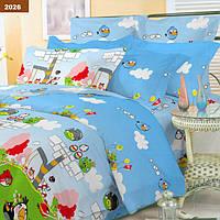 """Комплект постельного белья Angry Birds """"Viluta-ранфорс Platinum"""", подростковый"""