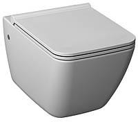 Унитаз консольный и сиденье с крышкой Softclose  Pure JIKA H8204230000001+H8934223000631