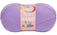 Бэби 100 Nako, 1036, сирень