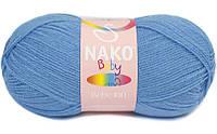 Бэби 100 Nako, 1256, голубой