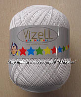 Бэби натурал Vizell, белый