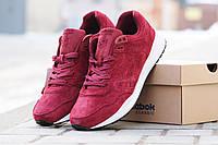 Мужские кроссовки REEBOK  HEXALITE, натуральная замша, красные / кроссовки мужские Рибок Гексалайт, стильные