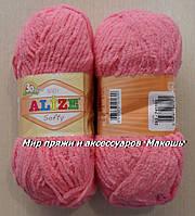 Детская пряжа Софти Softi Alize, № 33, ярко-розовый