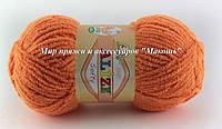 Детская пряжа Софти Softi Alize, № 336, оранжевый