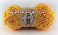 Детская пряжа Софти Softi Alize, № 216, желтый