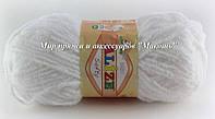 Детская пряжа Софти Softi Alize, № 55, белый