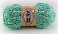 Детская пряжа Софти Softi Alize, № 669, св.зеленая бирюза