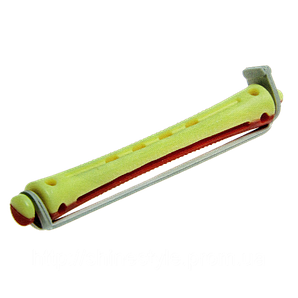 Коклюшки 8,5 мм длинные желто-красные 12шт
