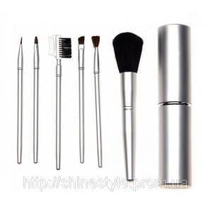 Набор 6 щеточек для макияжа в футляре Sibel 0000553