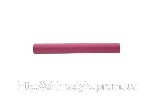 Гибкие бигуди-бумеранги 32 мм малиновые длинные 5шт
