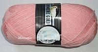 Зимняя пряжа Мадам Трикот, Кашемир голд 039, розовый