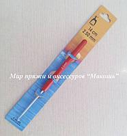 Крючки с пластмасовой ручкой Pony, № 2.5