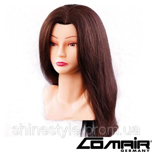 """Учебная голова-манекен для парикмахеров Comair """"Bust"""" 40см, коричневые (7000798)"""