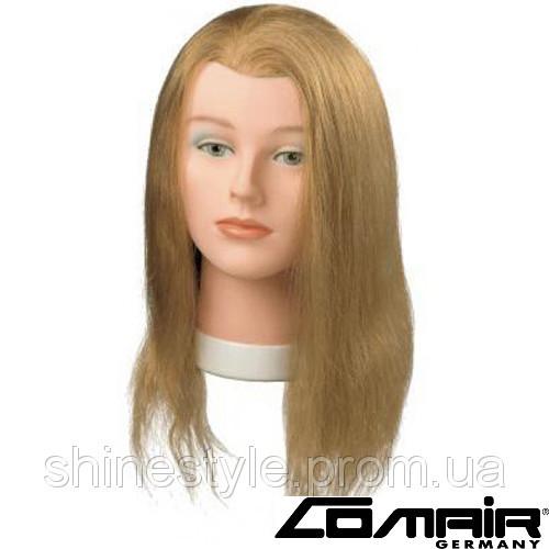 """Тренировочные головы манекены для парикмахеров Comair """"Standard"""" 40см, блонд (3010037)"""