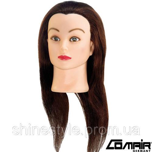 """Тренировочные головы для парикмахеров Comair """"Standard"""" 40см, коричневые (3010034)"""