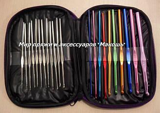 Набор крючков для вязанияв чехле