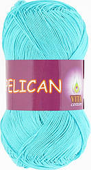 Пеликан, № 3999, светло-голубая бирюза