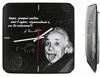 Настенные часы Чигивара, Эйнштейн. Качественные часы. Стильный и оригинальный дизайн. Купить часы Код: КДН1441