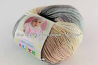 Пряжа Baby wool batik Alize, 4726
