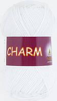 Пряжа Charm (Vita Cotton), № 4151, белый