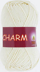 Пряжа Charm (Vita Cotton), № 4153, молочный