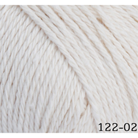 Пряжа Home cotton Himalaya, № 122-02, молочный