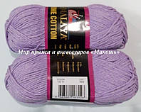 Пряжа Home cotton Himalaya, № 122-10. св. сирень