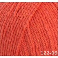 Пряжа Home cotton Himalaya, № 122-06, оранжевый
