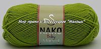 Пряжа Marvel baby Марвел бэби Нако, 11014, салат
