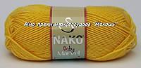 Пряжа Marvel baby Марвел бэби Нако, 6410, желтый