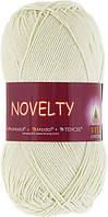Пряжа Novelty Vita Cotton, 1203, молочный