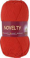 Пряжа Novelty Vita Cotton, 1213, ярко-красный