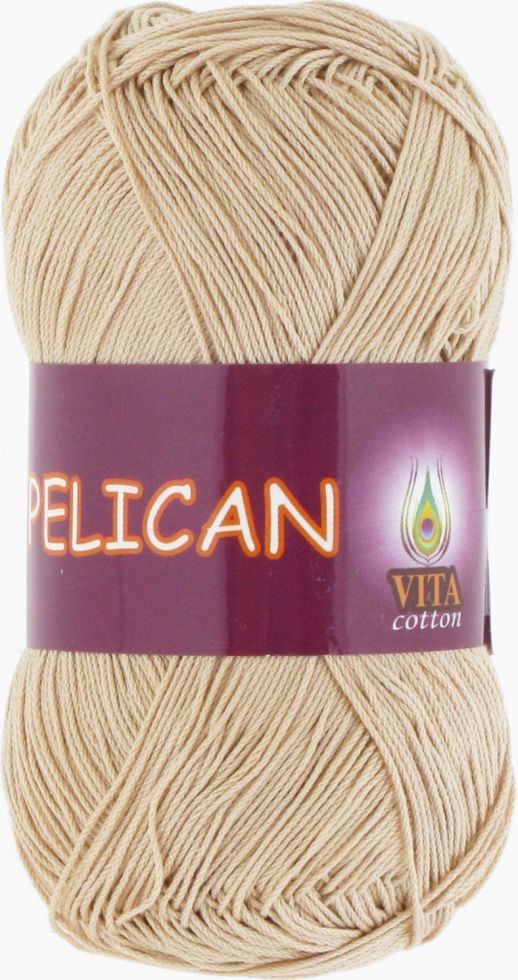 Пряжа PELICAN (Vita Cotton), № 3976, беж