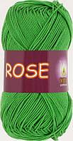 Пряжа Rose Vita Cotton, № 3935, молодая зелень