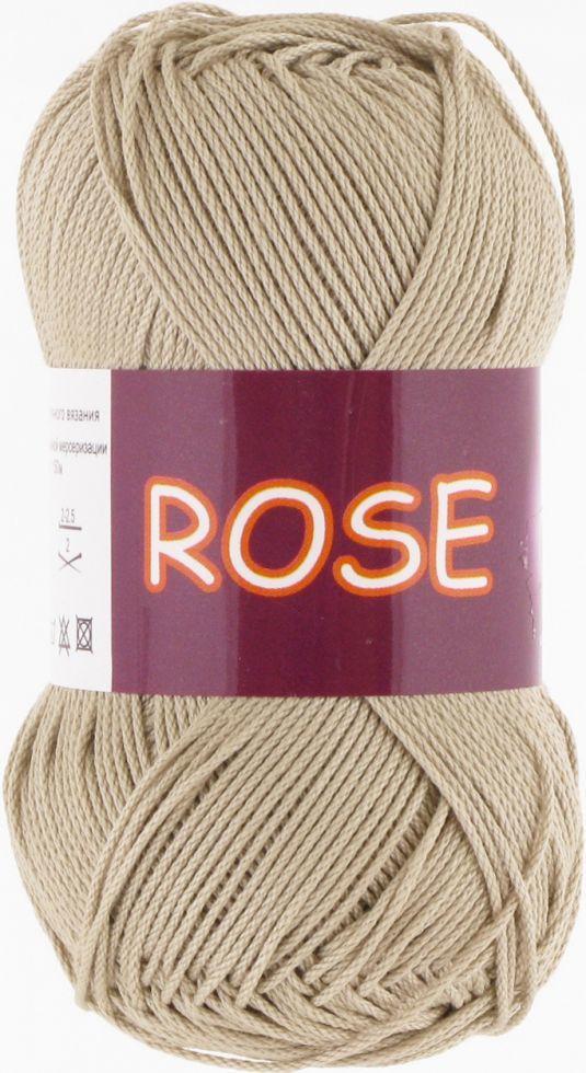 Пряжа Rose Vita Cotton, № 3943, бежевый