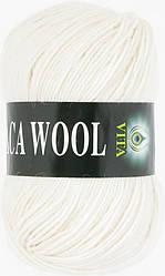 Пряжа Альпака вул Alpaca wool Vita, 2951, белый