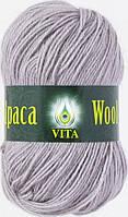Пряжа Альпака вул Alpaca wool Vita, 2956, серый