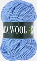 Пряжа Альпака вул Alpaca wool Vita, 2958, голубой