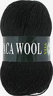 Пряжа Альпака вул Alpaca wool Vita, 2952, черный