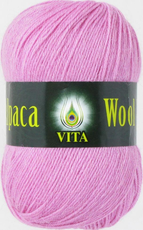 Пряжа Альпака вул Alpaca wool Vita, 2959, роовый
